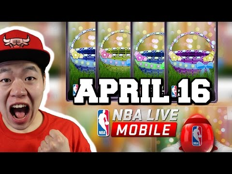 April 16th Basket Opening - Amazing - Nba Live Mobile