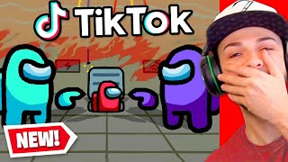 The *FUNNIEST* AMONG US Tik Toks + Memes! (FUNNY MOMENTS)
