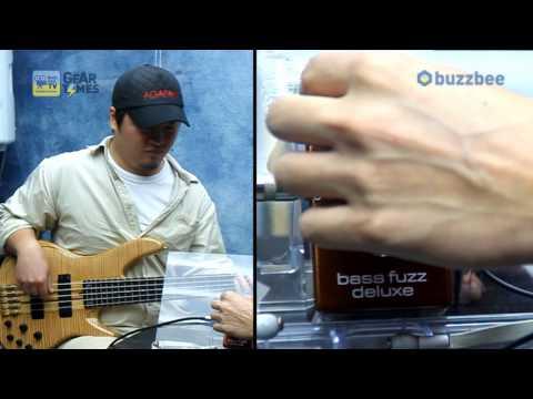MXR 베이스이펙터 Bass Fuzz Deluxe M84
