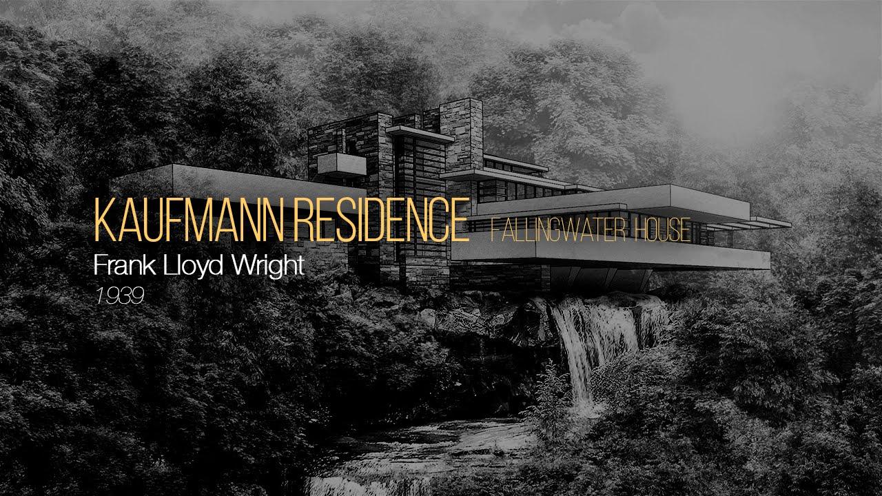 gemütlich frisch Großhandelspreis 2019 bestbewertet KAUFMANN RESIDENCE: FALLINGWATER HOUSE - FRANK LLOYD WRIGHT • Architecture  Illustration