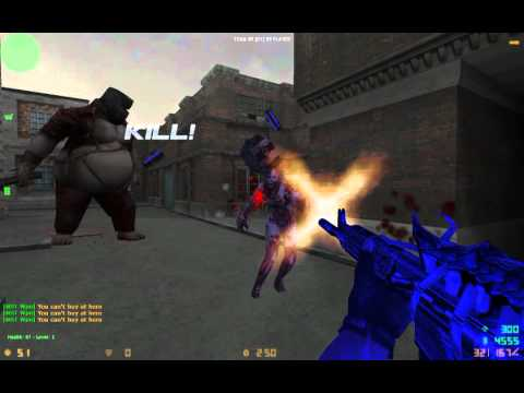 Counter Strike Xtreme v6 Zombie Scenario Gameplay