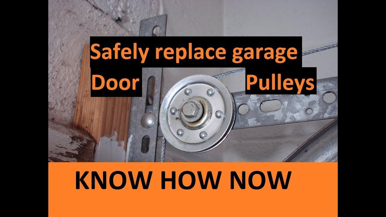 door common cropped lodge ponder pulley repair header garage