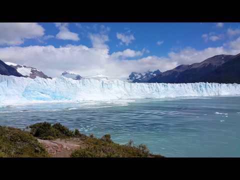Perito Moreno Glacier calving causes mini tsunami