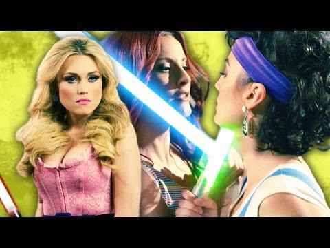 Revenge of the Threesome: Star Wars Lightsaber Duel Saber III