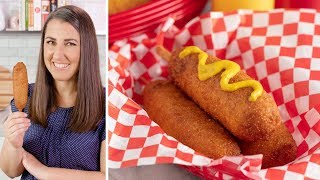 How to Make Hand Dipped Corn Dogs