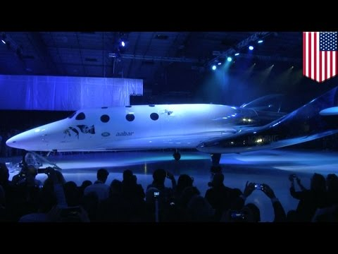 Virgin galactic: Richard Branson unveils new spacecraft 16 months after fatal crash - TomoNews
