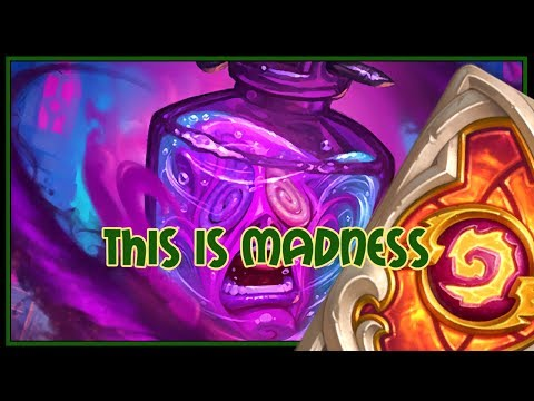 Hearthstone: This is MADNESS (combo priest)