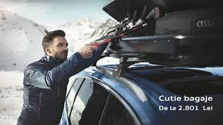 Accesorii originale toamnă-iarnă - Audi