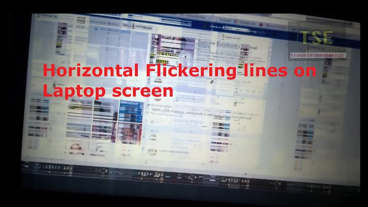 Horizontal Lines On Laptop Display Wiring Diagrams For Monitor Diagram Flickering Screen Hp Pavilion Notebook Au Rh Youtube Com Man At Shopping
