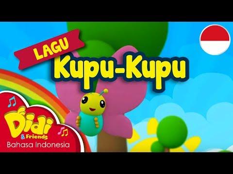 Lagu AnakAnak Indonesia  Didi & Friends  KupuKupu
