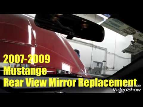 2007 2009 Mustang Rear View Mirror Replacement