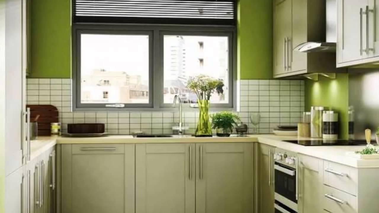Cucina verde interiors design ideas - YouTube