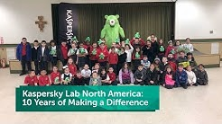Kaspersky Lab North America: 10 Years of Making a Difference