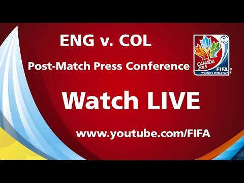 England v. Colombia - Post-Match Press Conference