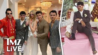 Joe Jonas and Sophie Turner: Married at Las Vegas Chapel | TMZ Live
