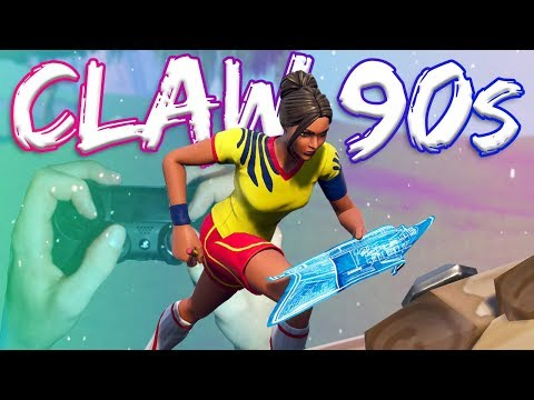 How I Do My 90s *Hand Cam* (Claw) - Fortnite