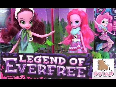 Май Литл Пони Мультик. Легенда Вечнозеленого Леса. Куклы Глориоса Дейзи и Пинки Пай. Эквестрия Гёрлз