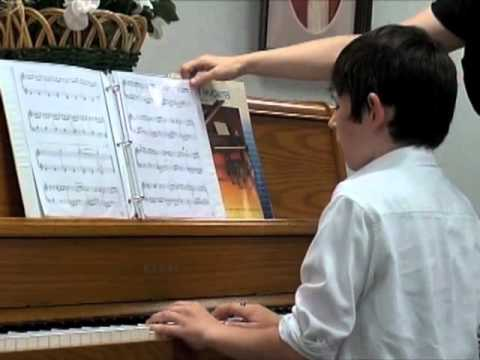 Mason playing Cristofori's Dream