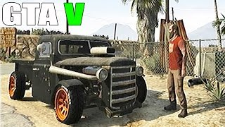 Grand Theft Auto V - Gameplay With - Rare Car and Off Road Truck Rat Loader [GTAV]