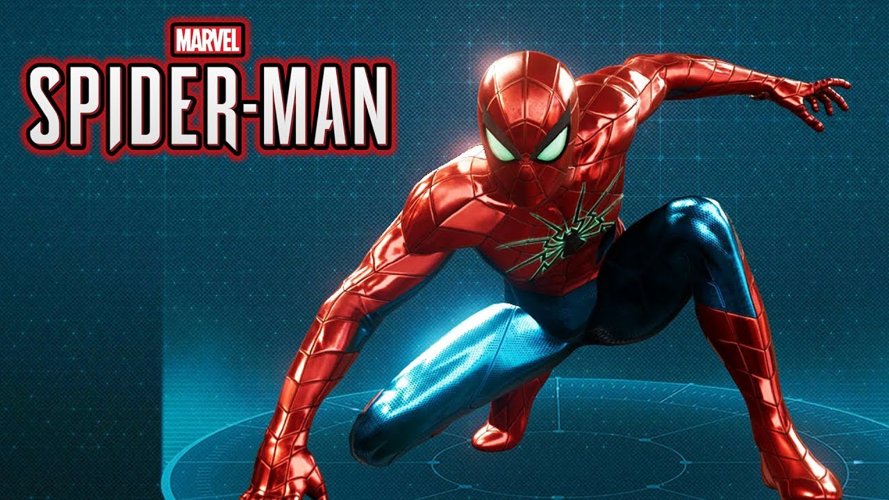 spider-man ps4 - spider armor mark 4 suit gameplay showcase - youtube