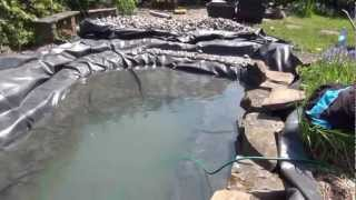 Wildlife Pond Rebuild In Ponteland - Near Newcastle - By Pondguru