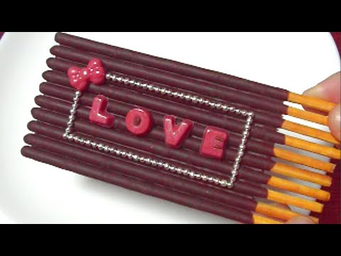 You Can Eat 🍭 Glico 3 - Decoration Pocky (Part 1) - Chocolate Candy