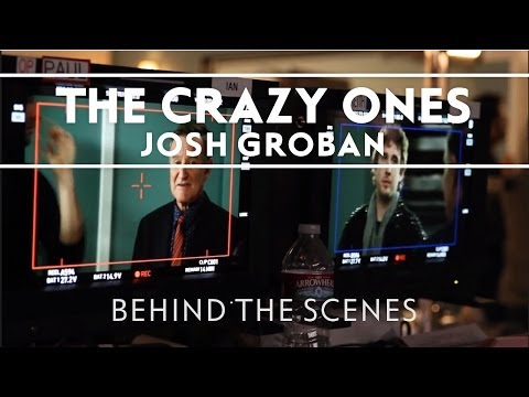 Josh Groban - On The Set Of The Crazy Ones [Extras]