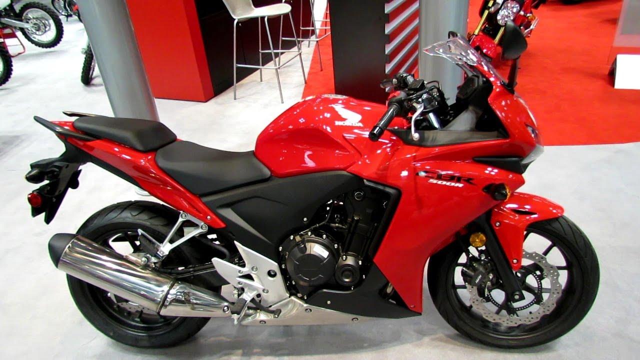 2014 Honda CBR500R Walkaround - 2013 New York Motorcycle Show - YouTube