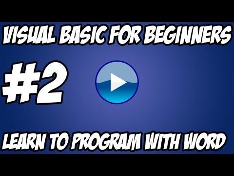 Visual Basic Tutorial -  #2 - Euro/Dollar Converter Machine