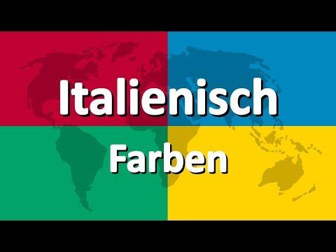 Italienisch Lernen Teil 3   Farben