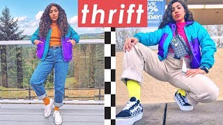 How To Thrift 🌈 (with my mom cuz i have no friends)
