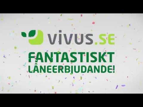 Vivus.se 2015 Reklamfilm