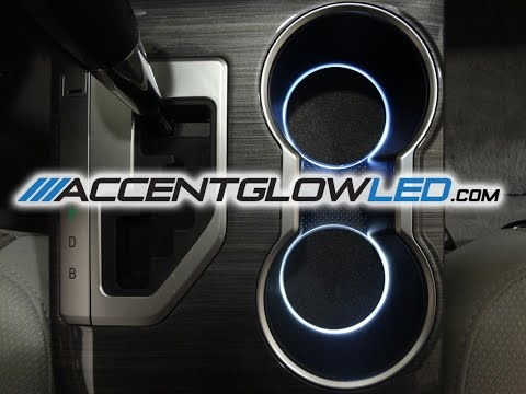 Toyota Camry LED Cup Holder Lights 2012-2014 AccentGlowLED