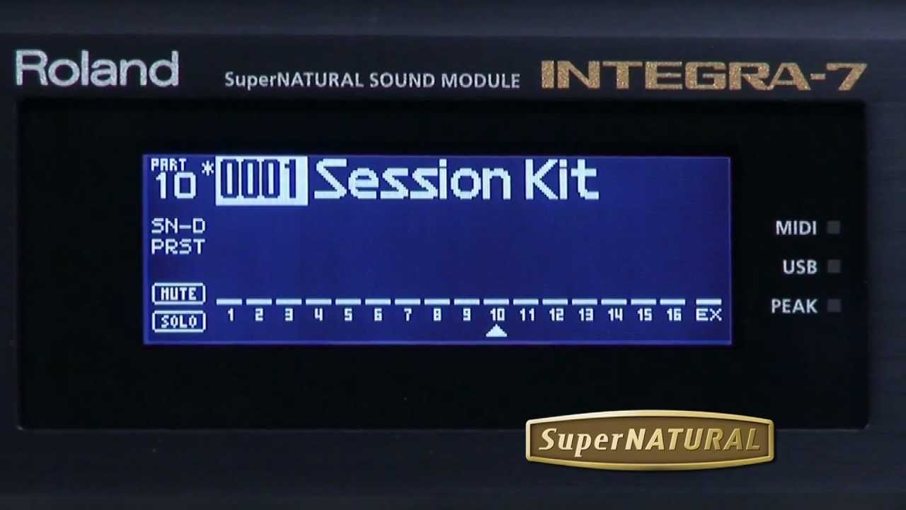 INTEGRA-7 SuperNATURAL Sound Module