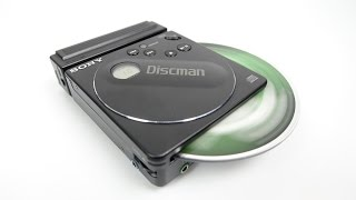 The smallest Discman ever made - was smaller than a CD
