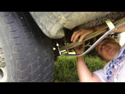 How To Install Leaf Helper Springs