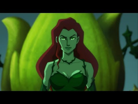 Poison Ivy - All Scenes Powers | Batman: Hush
