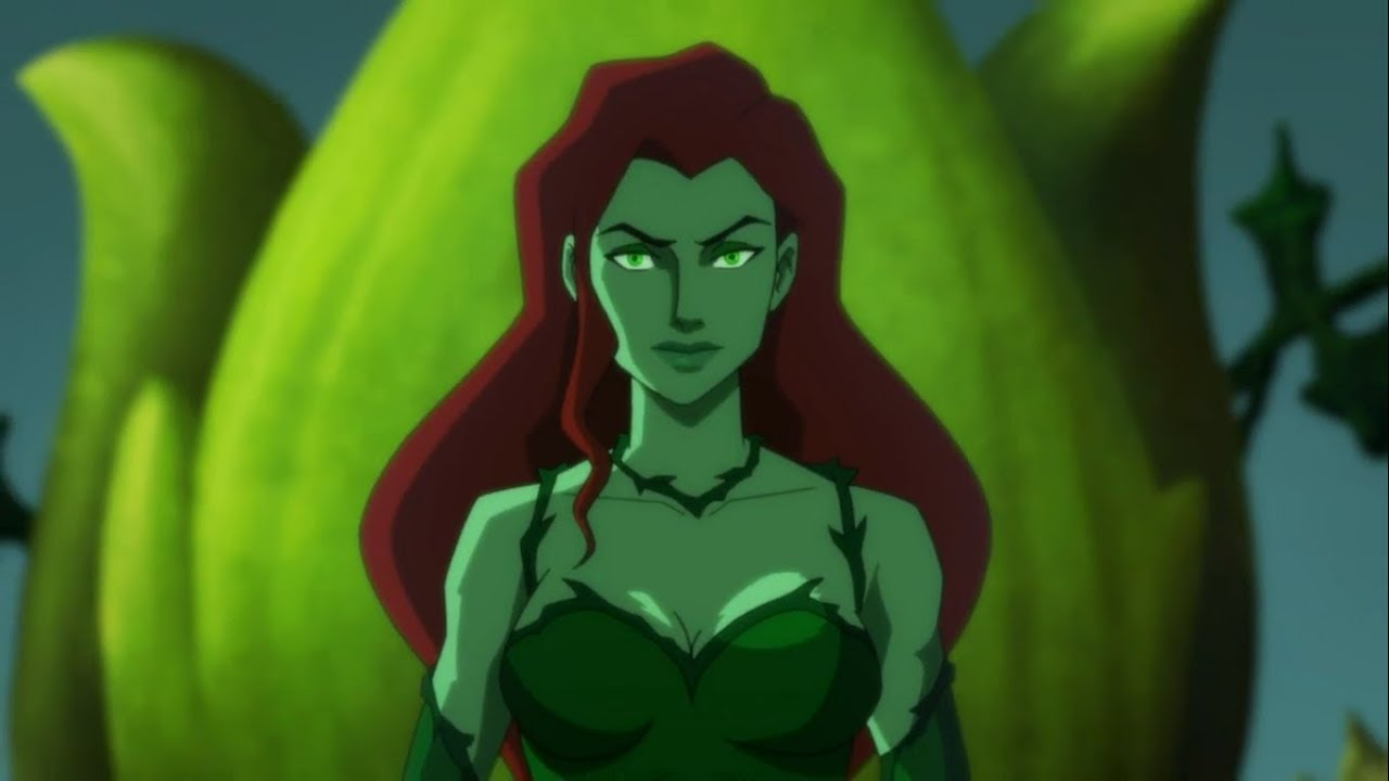 Poison Ivy All Scenes Powers Batman Hush Youtube