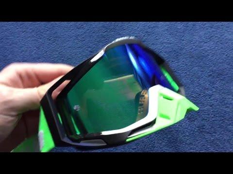 100% Racecraft Goggles - Unboxing