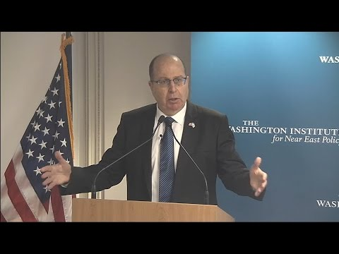 Moshe Yaalon: An Inside Look at Israeli National Security Strategy