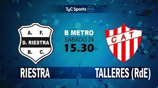 Deportivo Riestra vs CA Talleres Remedios de Escalada full match