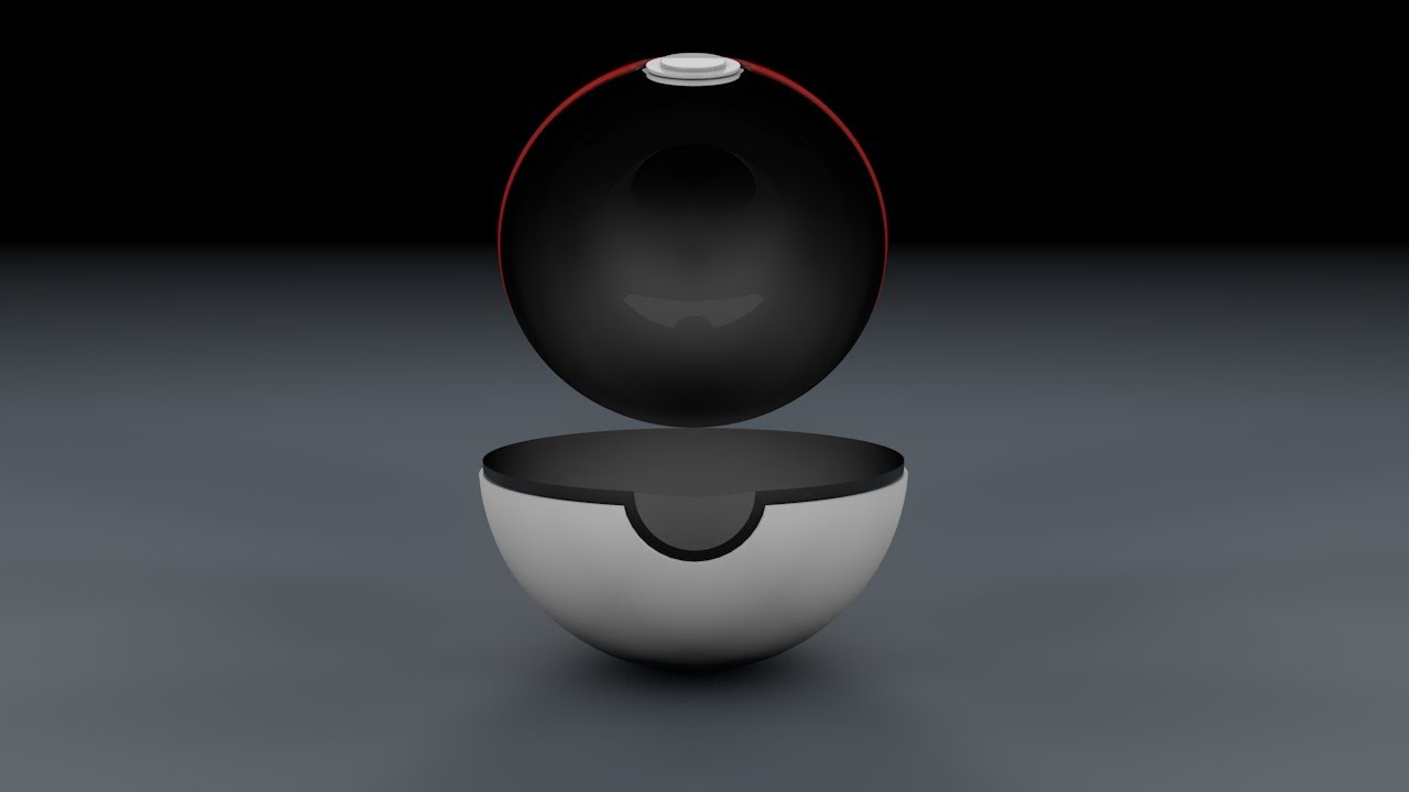 Cinema 4D Tutorial How To Make A Pokeball Open