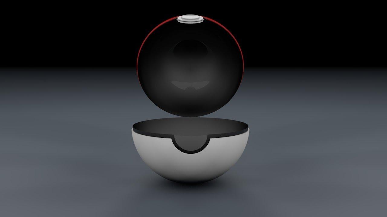 Cinema 4D Tutorial How To Make A Pokeball Open