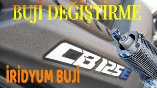 Motorsikletime iridyum buji taktim - Honda cb 125e degisim