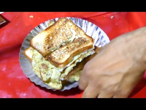 Bread Omelet | Healthy Breakfast Menu  | Step by Step | DELHI STREET FOODS