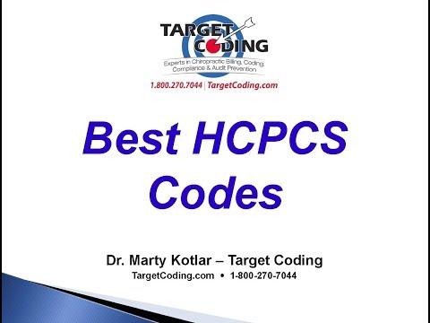Target Coding Best HCPCS Codes