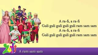 Gasca Zurli - A ram Sam Sam (cu versuri - lyrics video) #zurli
