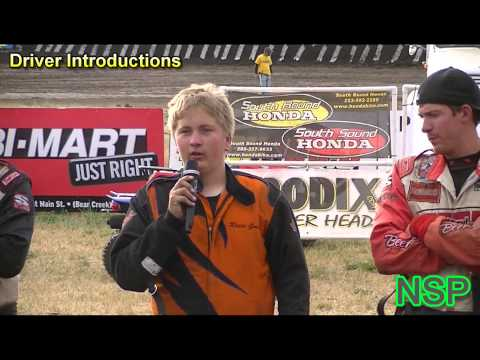 7-16-2012 Ascs Northwest Region Driver Introductions Southern Oregon Speedway