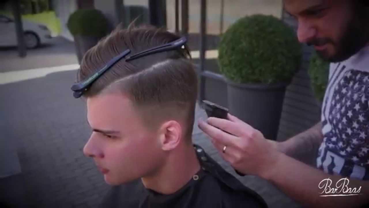 Barbaas Haircut 2015 Faded Hairstyle Youtube