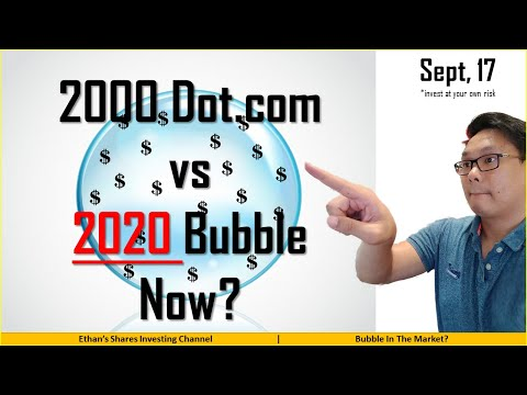 Dotcom Bubble vs Market now? Are we heading into another bubble?